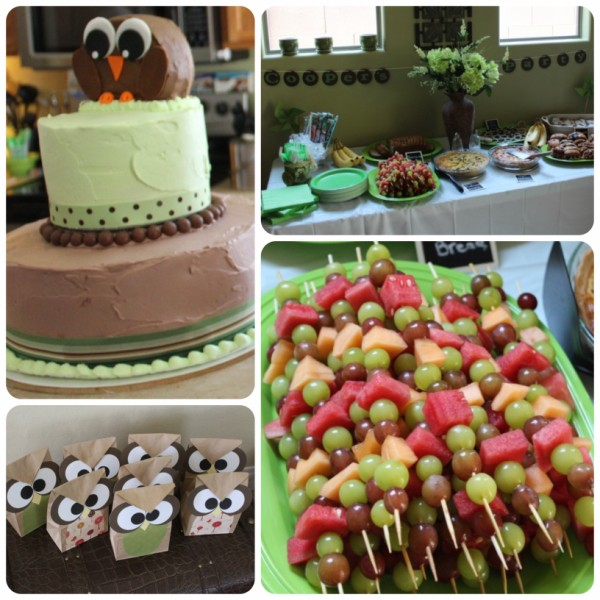 Owl Themed Birthday Party Mamas Nook